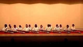 20140119,福岡市立東月隈小学校(箏)「さくら」