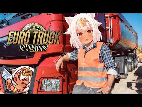 【Euro Truck Simulator 2】My Position of Power!《Eng Sub》【VTuber】 |