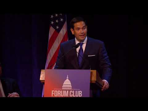 Florida News - Sen. Marco Rubio Says Partisanship Is Splitting The Country