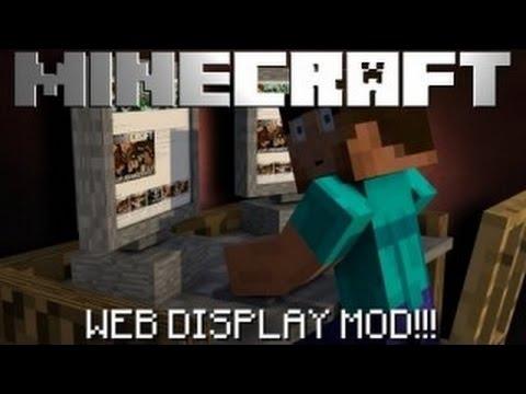 Türkçe Minecraft 1.7.10 Mod Tanıtımı/Web Display Bölüm 1