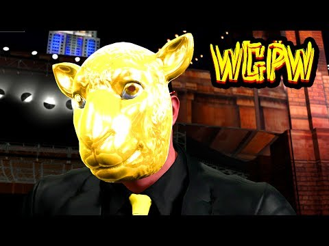 King Llama UNMASKED SHOCKER! WGPW Ep. 6 (WWE 2K17 Gameplay)