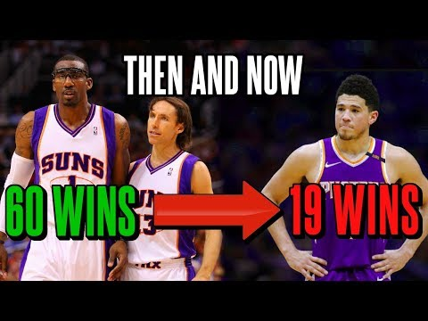 How The Phoenix Suns Went From A Title Contender To The Worst Team In The NBA
