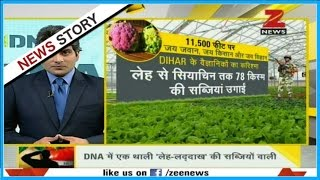 DNA: DIHAR produces vegetables for Army in high areas