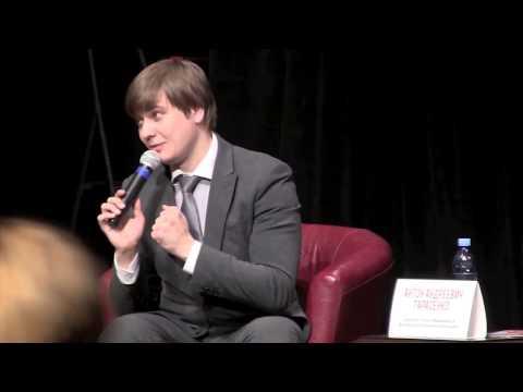 """Антон Тарасенко, директор театра """"Мимикрия"""" и фестиваля """"Театральная революция"""""""