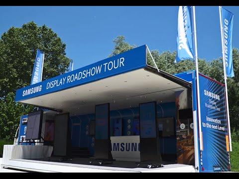 Samsung European Display roadshow