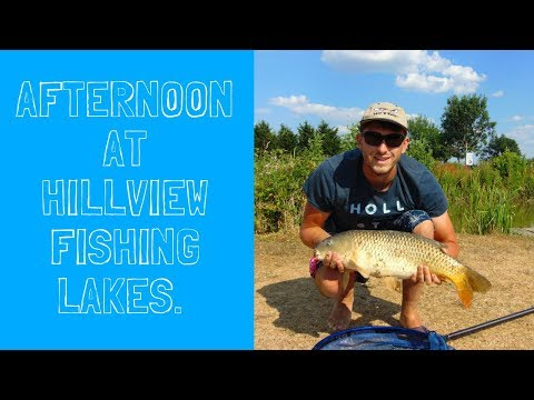 Afternoon At Hillview Fishing Lakes.