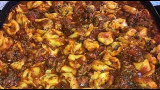 Four Cheese Tortellini with Italian Sausage Recipe EASY