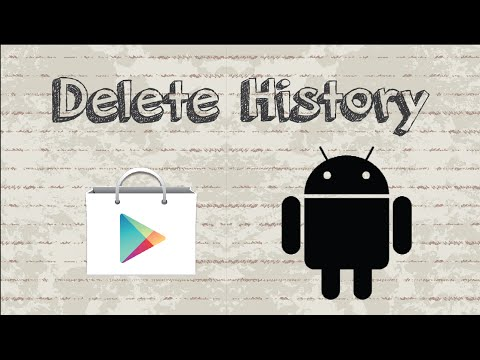 How To Delete Google Play Store History