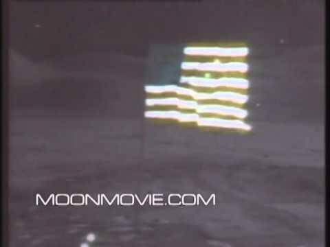 Waving Flag Apollo 15