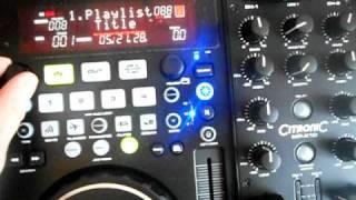Citronic MPX10 midi controller and usb player, VDJ, Traktor - video 2