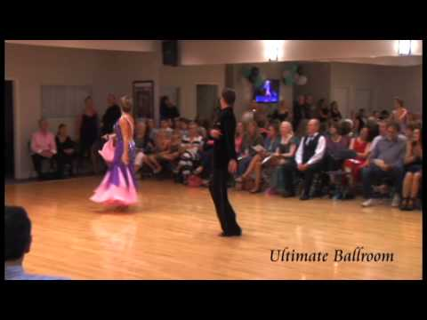 International Foxtrot Performance at Ultimate Ballroom Dance Studio in Memphis