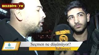 31 Mart 2019 Sultangazi Belediye Başkanlığı Seçimlerinde 100 Kişiye Sorduk?