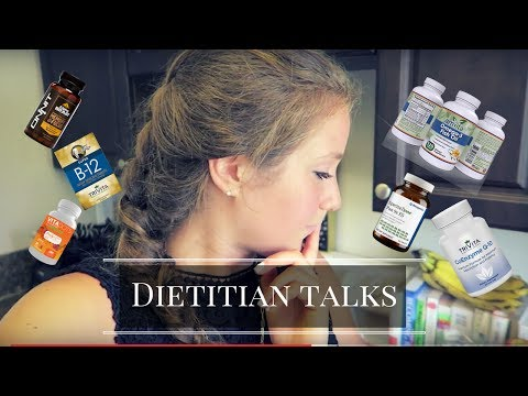 WHAT SUPPLEMENTS YOU NEED!?!?  / GROCERY HAUL | Dietitian Talks