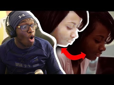 BLACK GIRL THINKS SHE'S WHITE