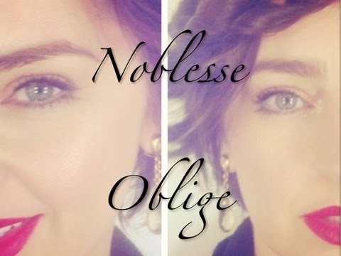 My New Website!!!! Noblesse Oblige Image and Beauty Consulting