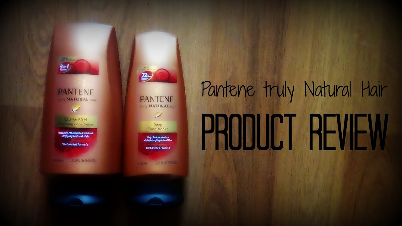 Review Pantene Truly Natural Hair Co Wash Cleansing Conditioner Deep You