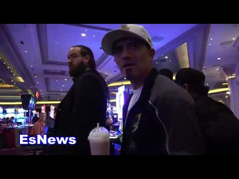brandon rios reveals what he told danny garcia face to face at weigh in EsNews Boxing