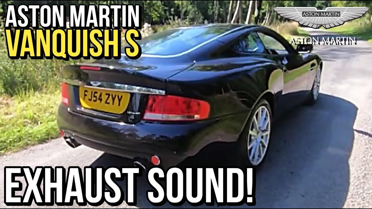 Aston Martin Vanquish S Exhaust Sound Youtube