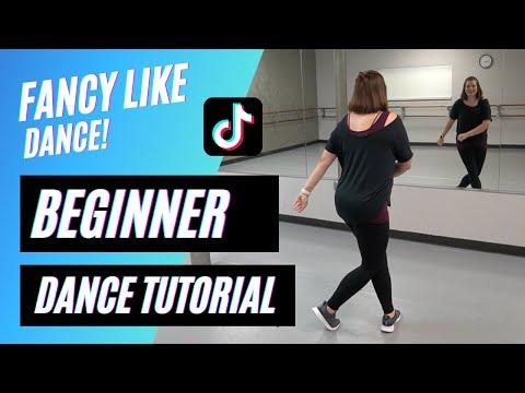 """FANCY LIKE"" DANCE   Walker Hayes   TikTok (BEGINNER DANCE TUTORIAL), Back-view & Step-by-Step!"