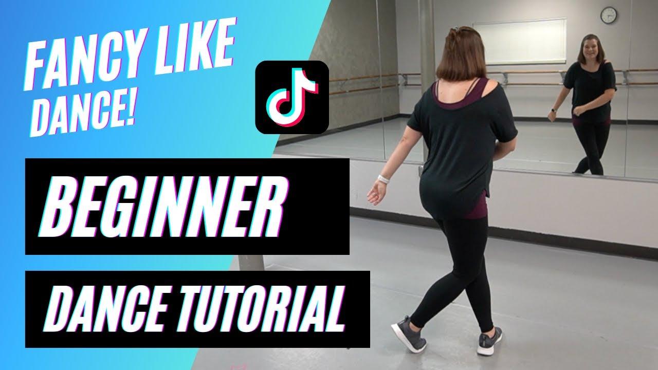 """FANCY LIKE"" DANCE | Walker Hayes | TikTok (BEGINNER DANCE TUTORIAL), Back-view & Step-by-Step!"
