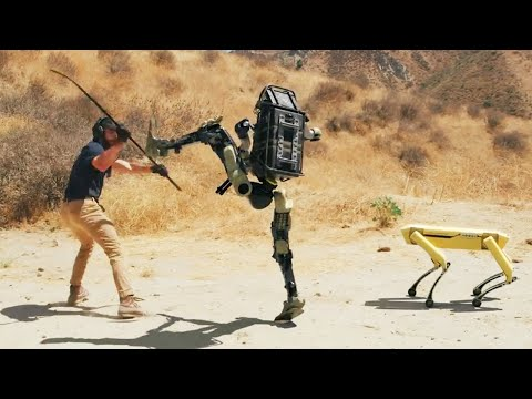 Robot Is Being Trained For War & Robot Is Fighting Back – – Risks Of Ai