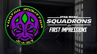 First Impressions of Star Wars Squadrons I VooDoo Squad