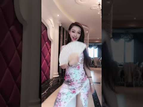 Chinese sexy girl is dancing on webcam with beautyleg in uniform Asian hot babe