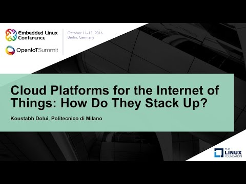 Cloud Platforms for the Internet of Things: How Do They Stack Up?