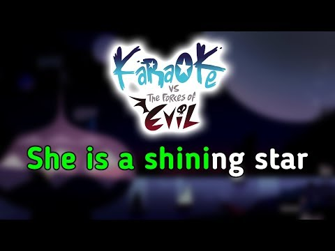 Shining Star (Second Credits Theme) - Star Vs. the Forces of Evil Karaoke