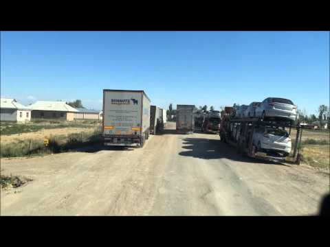 Kazahsztánon, Üzbegisztánon át. ( trucking in kazakhstan- uzbekistan )
