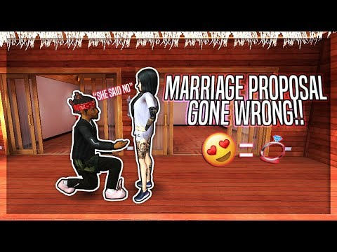 MARRIAGE PROPOSAL GONE WRONG!! SHE SAID NO!!! | AVAKIN LIFE ONLINE - BY: DANTEAVA