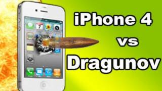iPhone 4 vs Dragunov Sniper Rifle: Tech Assassin RatedRR