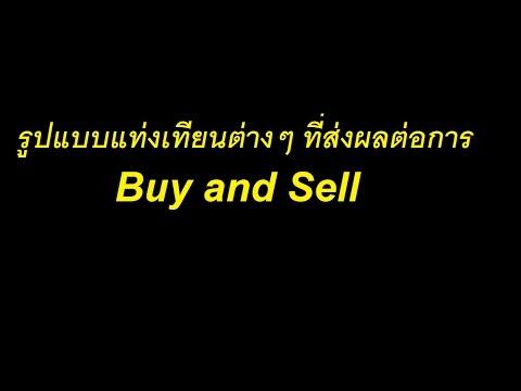 รูปแบบแท่งเทียนที่มีผลต่อการ Buy or sell