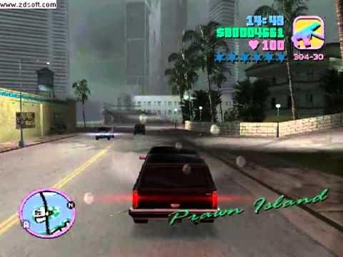 Grand Theft Auto Vice City FBI Rancher Gameplay - YouTube