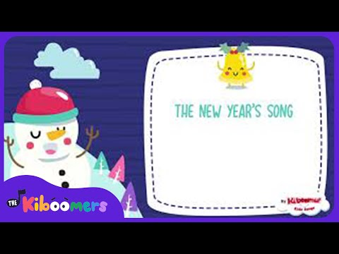 New Year Song for Kids | Happy New Year | The Kiboomers | New Years Eve for Children