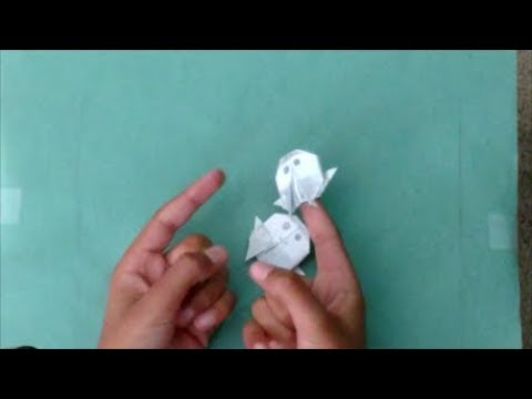 Origami Person Puppet Youtube
