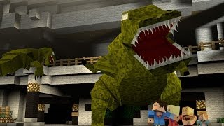 Minecraft Parody Animation : JURASSIC PARK!