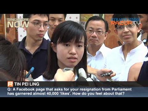 Tin Pei Ling responds to netizens' petition