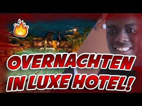 OVERNACHTEN IN EEN LUXE HOTEL!