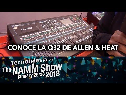 Consola digital Q32 de Allen & Heat NAMM 2018