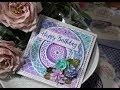 Shell Trellis & Nesting Circles from Card Making Magic