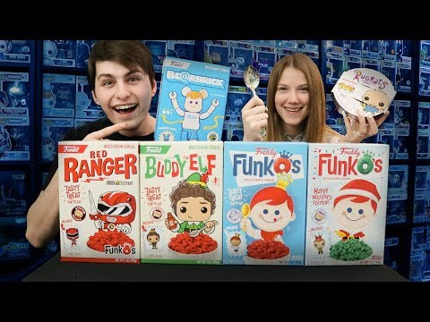 Funkos Breakfest Cereal Mukbang  A Toy In Every Box