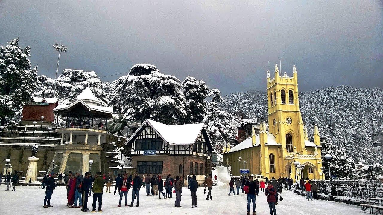 Image result for snowfall shimla