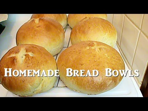 The 4 Year Old Bakes: Bread Bowls