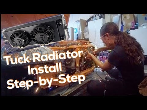 Tuck Radiator Install Step-By-Step - Female Built Turbocharged Honda Civic