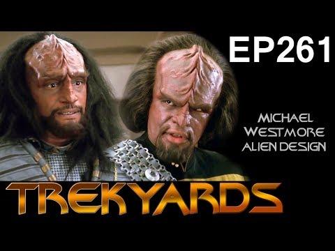 Trekyards EP261  Designing the Klingons part 1 ft. Michael Westmore