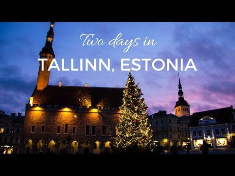 Two days in Tallinn, Estonia