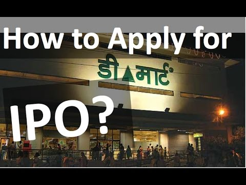 How to apply for DMart IPO?