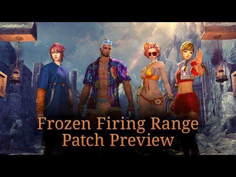 Blade & Soul: Frozen Firing Range Patch Preview
