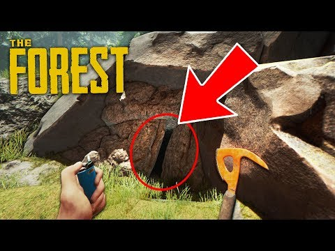 LOOK WHAT WE FOUND!! (The Forest)